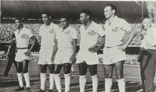 Dorval, Melgávio, Coutinho, Pelé e Pepe - Blog DNA Santástico