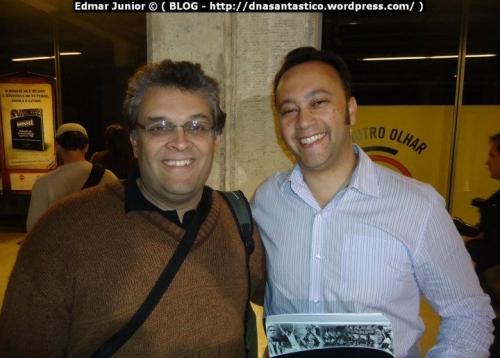 Prof. Guilherme Nascimento e Edmar Junior