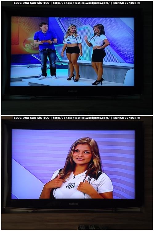 Sabrina Torres no Globo Esporte (26/01/2012)