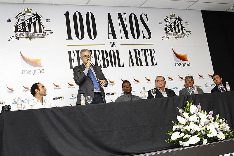 c3ba0ab7c0 LANÇAMENTO DO LIVRO    SANTOS FC 100 ANOS DE FUTEBOL ARTE