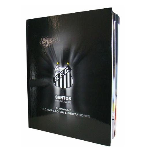 Santos Futebol Clube - Almanaque Tricampeão da Libertadores - Blog DNA Santástico