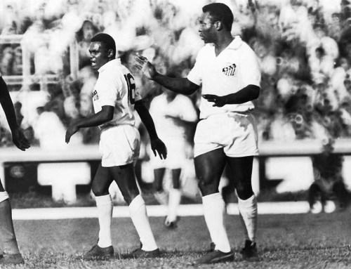 Pelé e Coutinho em ação!