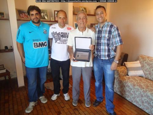 Wesley Miranda, Alex Santos, Dalmo Gaspar e Edmar Junior