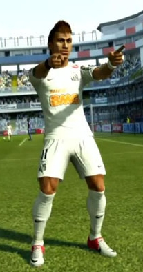 Neymar - PES2013 - Blog DNA Santastico