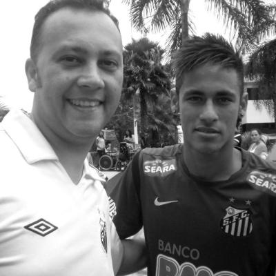 Edmar Jr e Neymar Jr