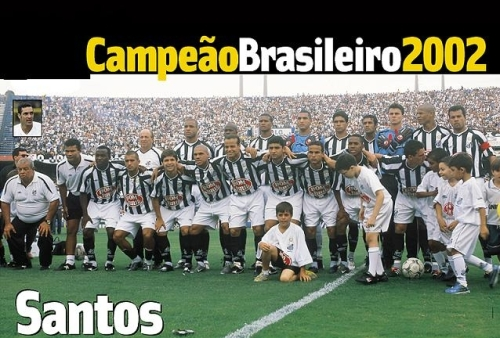 Santos CAMPEAO 2002 - Blog DNA Santastico