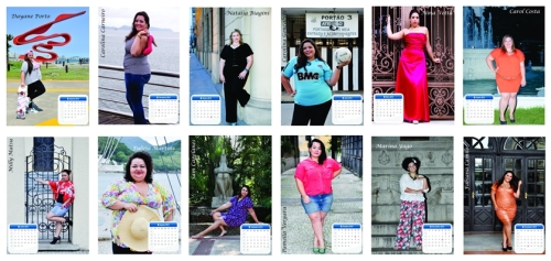 Calendario Plus Size 2013 - Blog DNA Santastico