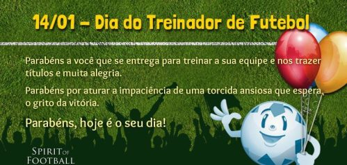 Dia do Treinador - Blog DNA Santastico