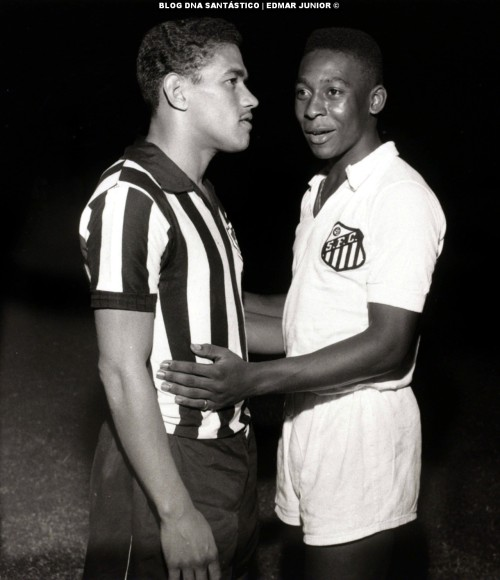 Garrincha e Pelé