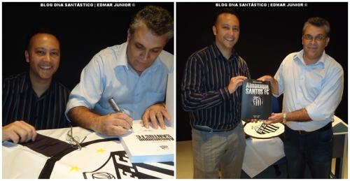Edmar Junior e o Prof. Guilherme Nascimento