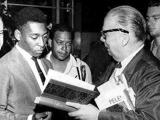 Pelé e Mário Filho