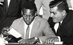 Pelé e Pepe Gordo