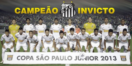 Santos - CAMPEAO - CSPFJR 2013 - Blog DNA Santastico