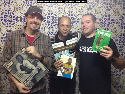 Wanderley Frare, Alex Santos e Marcelo Fernandes