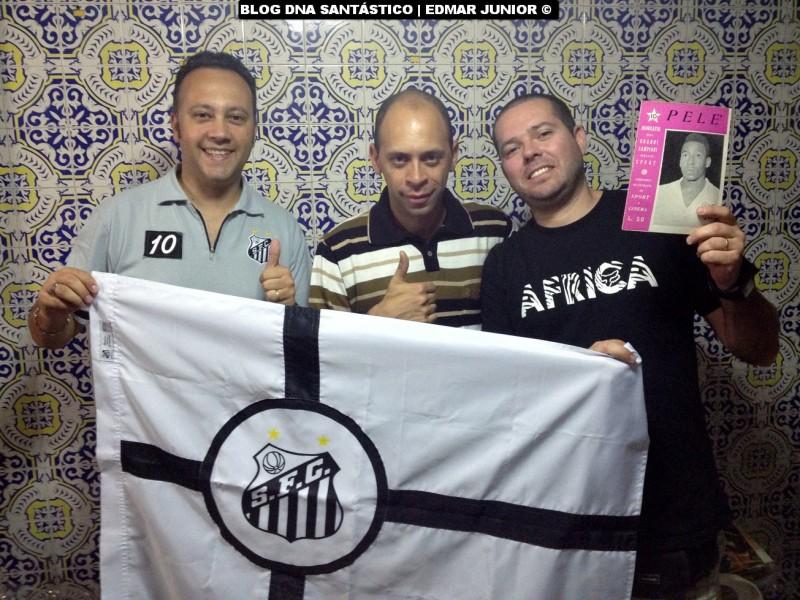 Edmar Junior, Alex Santos e Marcelo Fernandes