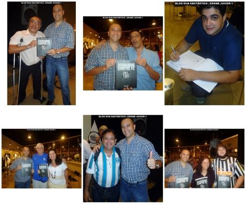 Lancamento Almanaque Santos FC em Sao Paulo - Amigos - Blog DNA Santastico