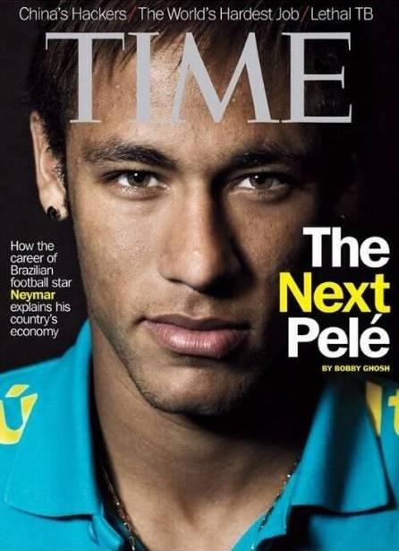 Neymar - TIME - Blog DNA Santastico