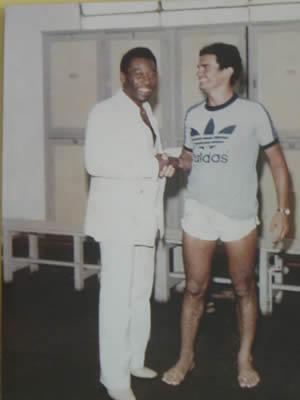 Pelé e Toninho Silva