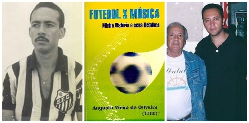 Tite nos tempos de Santos, seu livro e com Edmar Junior