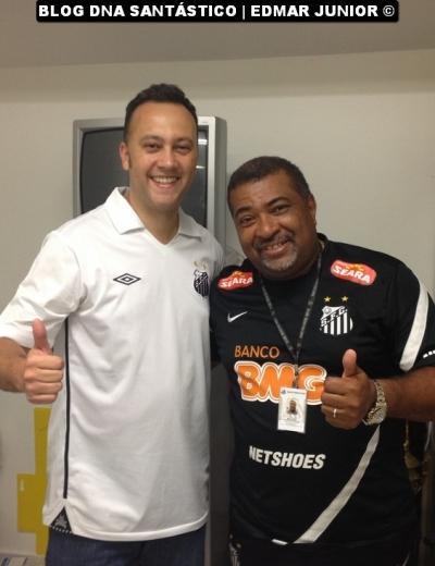 Edmar Junior e Betinho (Responsável