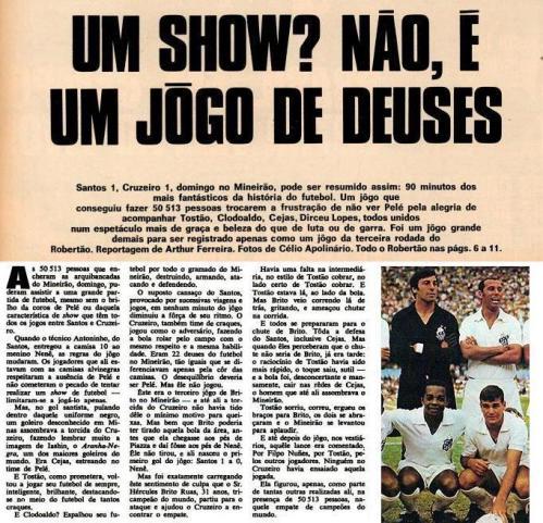 Estréia de Cejas contra o Cruzeiro