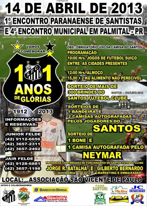 Evento de Santistas do Parana - Blog DNA Santastico