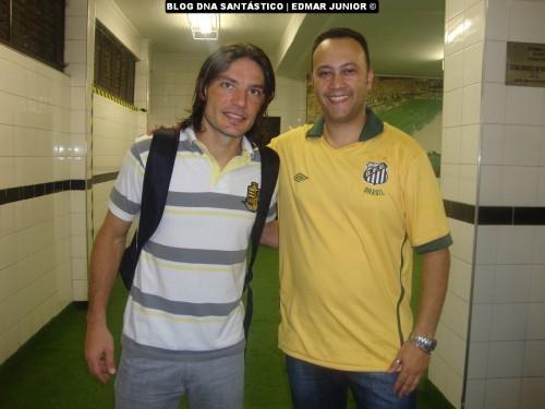 Germano (atuou pelo Santos em duas oportunidades contra o Mirassol) e Edmar Junior