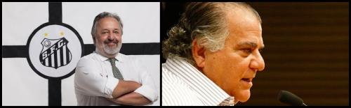 Presidente Luis Alvaro de Oliveira Ribeiro (LAOR) e o Vice-Presidente Odílio Rodrigues do Santos Futebol Clube