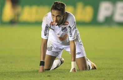 Neymar Cansado - Blog DNA Santastico