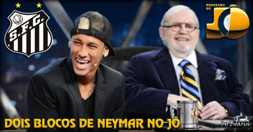 Neymar no Programa do Jo - 2013 - Blog DNA Santastico