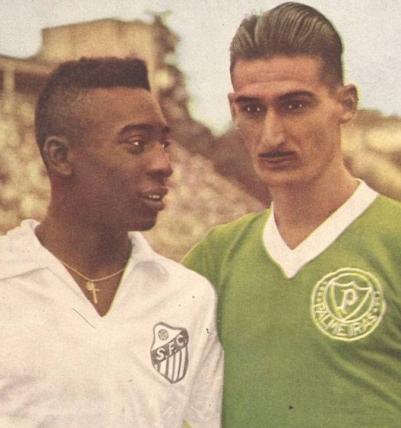 Pelé e Julinho Botelho - Blog DNA Santastico