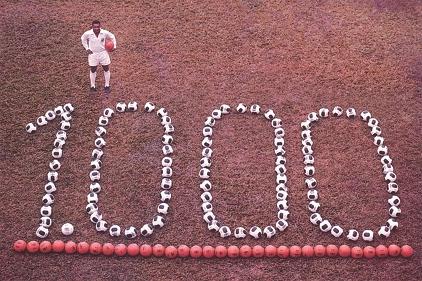 Pele - 1000 Gols - Blog DNA Santastico