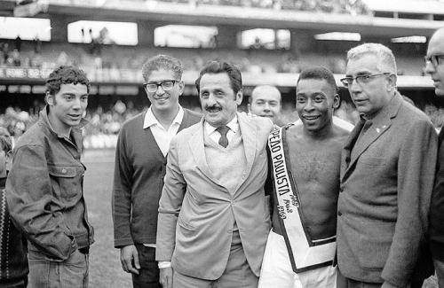 Pele Campeao Paulista - 1969 - Blog DNA Santastico