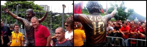 Zico - Estatua - Blog DNA Santastico