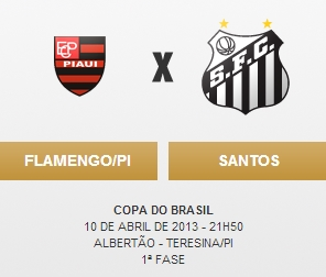 Flamengo-PI x Santos FC - Blog DNA Santastico