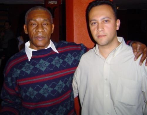 Neto (ex-zagueiro do Santos, atuou diante do Flameng-PI em 1976) e Edmar Junior