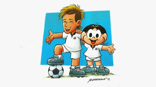 Neymar - Quadrinhos - Blog DNA Santastico