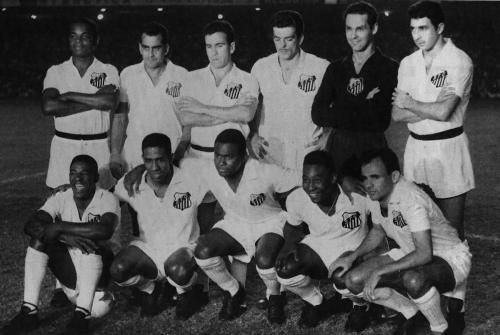 SANTOS FUTEBOL CLUBE - BICAMPEÃO DA TAÇA BRASIL