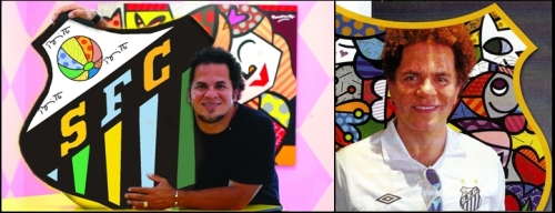 Romero Britto, artista plástico extremamente bem conceituado e inspirador de Maurity