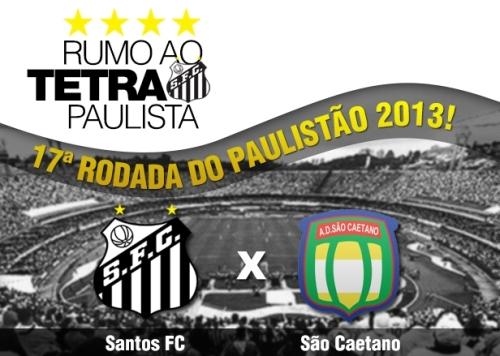 Santos x Sao Caetano - Paulistao 2013 - Blog DNA Santastico