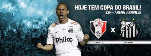 Joinville x Santos - Copa do Brasil  2013