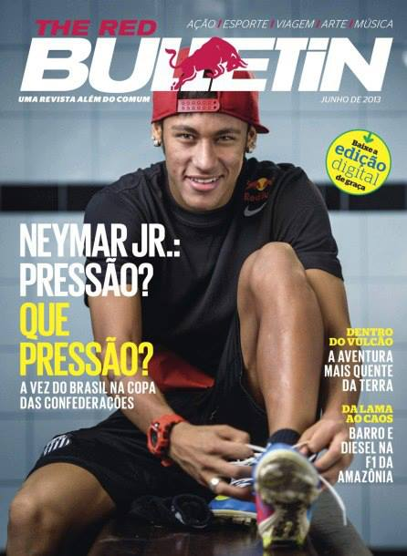 Neymar Jr - Red Bulletin 2013 - 01 - Blog DNA Santastico