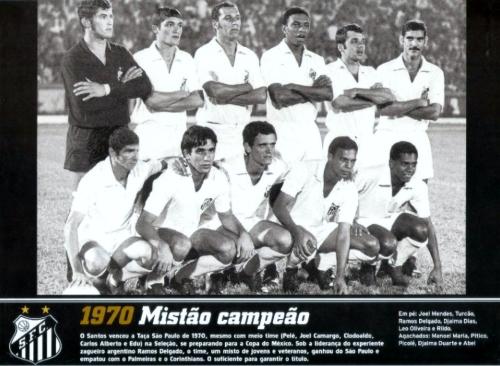 Santos Campeao Taca Sao Paulo 1970 - Blog DNA Santastico