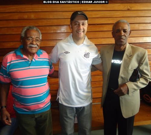 Coutinho, Edmar Junior e Dorval durante reunião do MEMOFUT