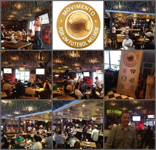 Fotos do evento realizado no Bar Tatu Bola, onde a AmBev apresentou os resultados obtidos até aqui pelo projeto Movimento por um Futebol Melhor.