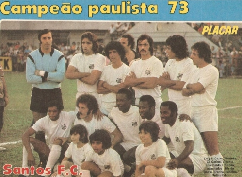 Santos 1973 - Blog DNA Santastico