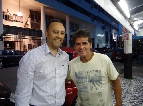 Edmar Junior e João Paulo (o Papinha da Vila)