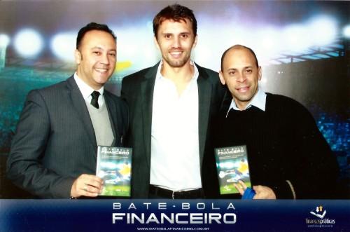 Edmar Junior, Paulo André e Alex Santos (colaborador do Blog DNA Santástico)