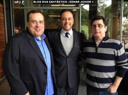 Paulo Soares, Edmar Junior e Antero Greco
