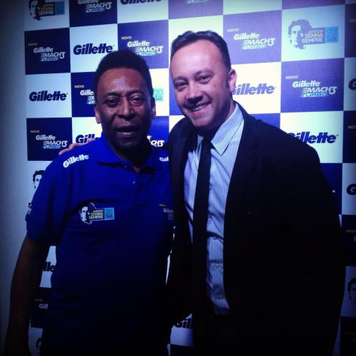 Rei Pelé e Edmar Junior